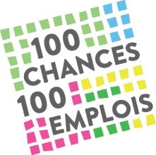 logo 100 chances 100 emplois